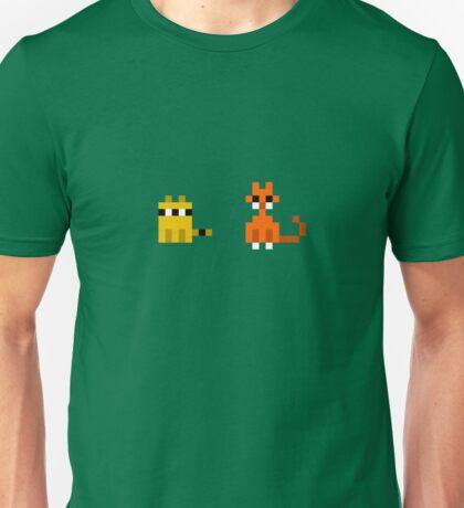 Raccoon + Cat Unisex T-Shirt