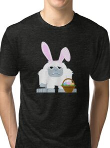 Cute Easter Yeti Tri-blend T-Shirt