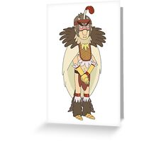 Rick and Morty: Bird Person Greeting Card