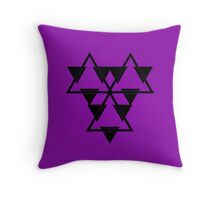 Battlestar Throw Pillow