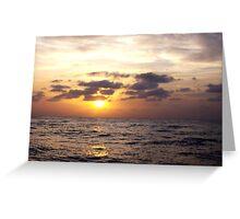 North Shore Sunset Greeting Card
