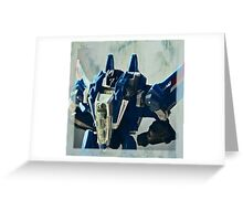 Thundercracker Portrait Greeting Card