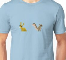 Rabbit + Squirrel Unisex T-Shirt
