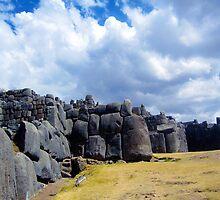 saqsayhuaman ruins above cusco peru by nicole makarenco
