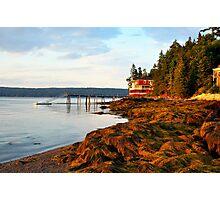 House at the end of the Road, Deer Isle, Maine Photographic Print