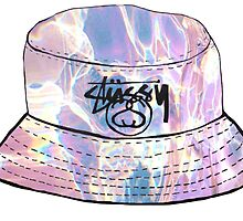 Soft Grunge Stussy Hat by sillyspoons