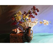 Still Life with Shell Photographic Print