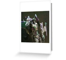 Slipstream Portrait Greeting Card