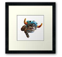 Loki Beastie Framed Print