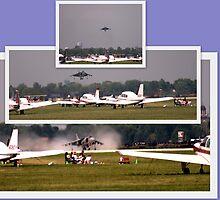 Jump JET ~ The Harrier...... by Larry Llewellyn