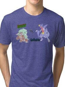 Grover vs. Gaafhadrim Tri-blend T-Shirt