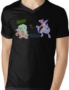 Grover vs. Gaafhadrim Mens V-Neck T-Shirt