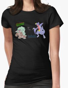 Grover vs. Gaafhadrim Womens Fitted T-Shirt