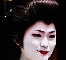 Geisha 3 by Ian Kemp