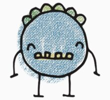 Spooky Monsters - mini blue Kids Clothes