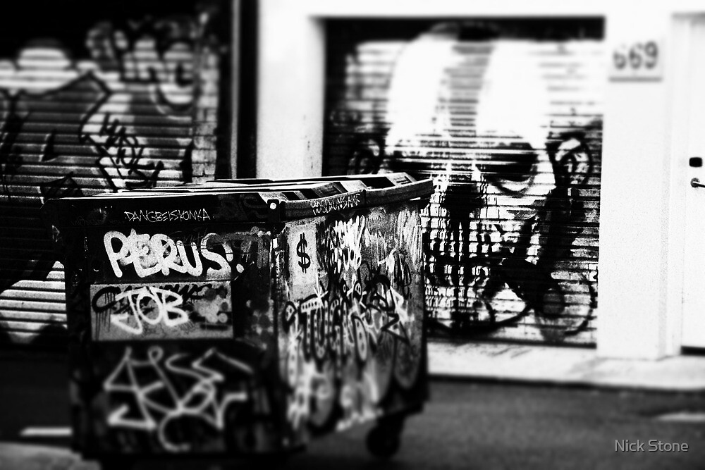 trash man by Nick Stone