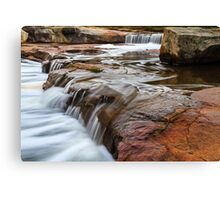 Noble falls, Perth hill's , Western Australia Canvas Print