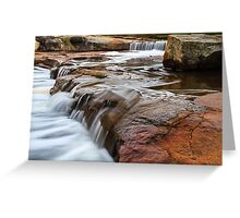 Noble falls, Perth hill's , Western Australia Greeting Card
