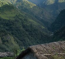 A view of Mt. Machapuchare view from Tolka by idoavr