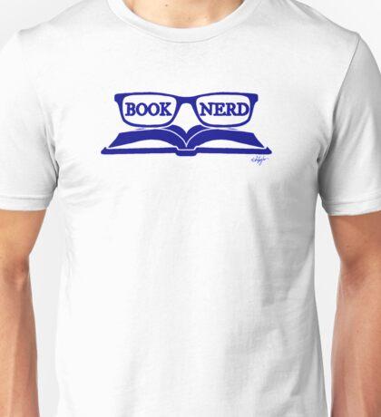 Book Nerd (Blue) Unisex T-Shirt