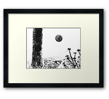 Orb Reporting Photograph #10 Framed Print