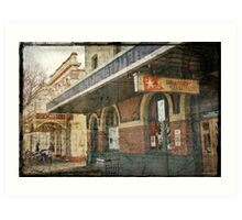 White Star Hotel - Albany Art Print
