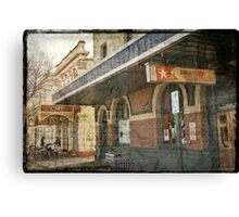 White Star Hotel - Albany Canvas Print