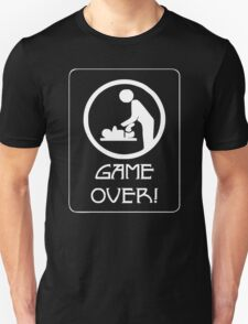 New Dad Game Over, Baby Daddy Parent T-Shirt