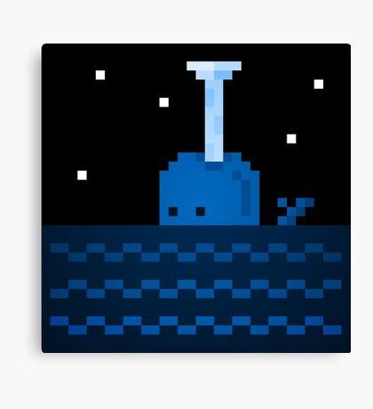 Whale Games Canvas Print