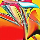 Glass tulip by diane haas