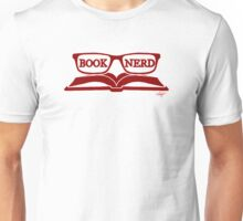 Book Nerd (Red) Unisex T-Shirt