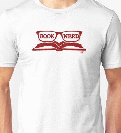 Book Nerd (Red) Unisex T-Shirt