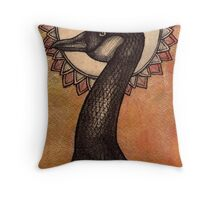 Spruced Goose Throw Pillow