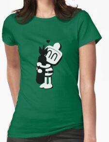 Bomberman Hugger Womens Fitted T-Shirt