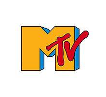 MTV Logo 1 Photographic Print