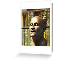 Egyptian Bust Greeting Card