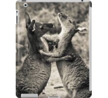 Fighting Kangaroo's, Perth hill's, Western Australia iPad Case/Skin