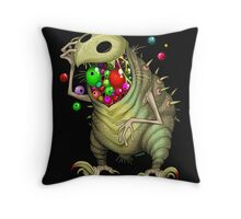 Eyechedelic Throw Pillow
