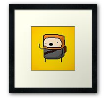 21st Century Digital Boy Framed Print