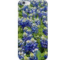Field of Bluebonnet Flowers iPhone Case/Skin