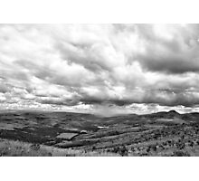 Rain on the horizon Photographic Print