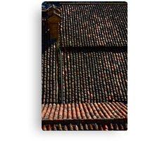 italian roofs Canvas Print