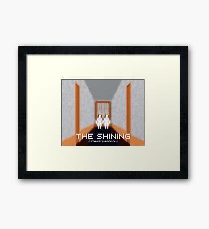 The Shining, Twins Framed Print