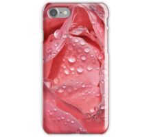 Droplets and Rose II iPhone Case/Skin