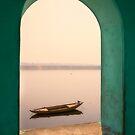 Varanasi, river view by Mark Smart