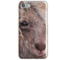 Mother and Joey Kangaroo, Perth hill's, Western Australia iPhone Case/Skin