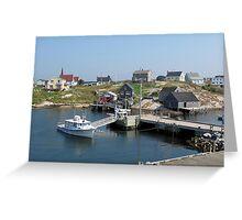 Peggy's Cove, Nova Scotia Greeting Card
