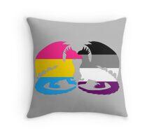 Pan Ace Pride Dragons Throw Pillow