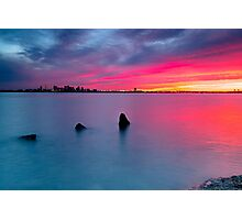 Boston from Deer Island Photographic Print