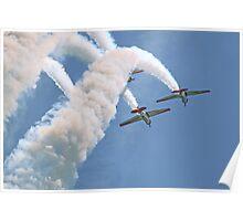 Aeroshell Aerobatic Team Poster